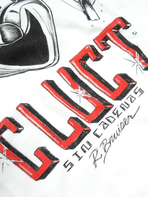 [CLUCT] CLUCT x BRUISER -CW-FACE L/S-3