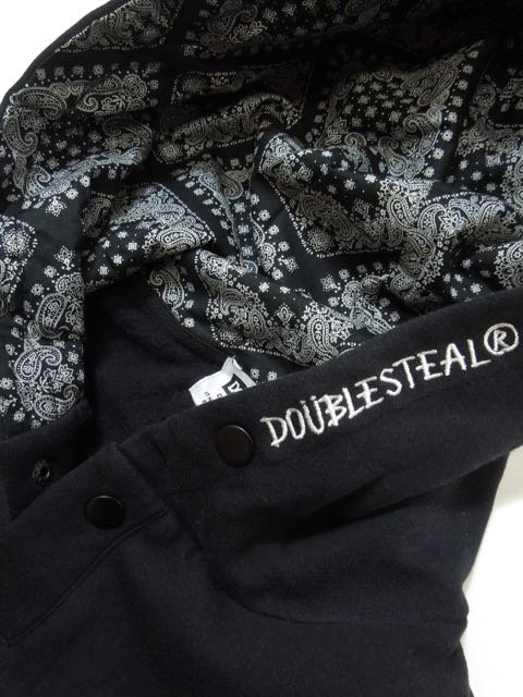 [DOUBLE STEAL] HOOD IN FABRIC PARKA(BK)1