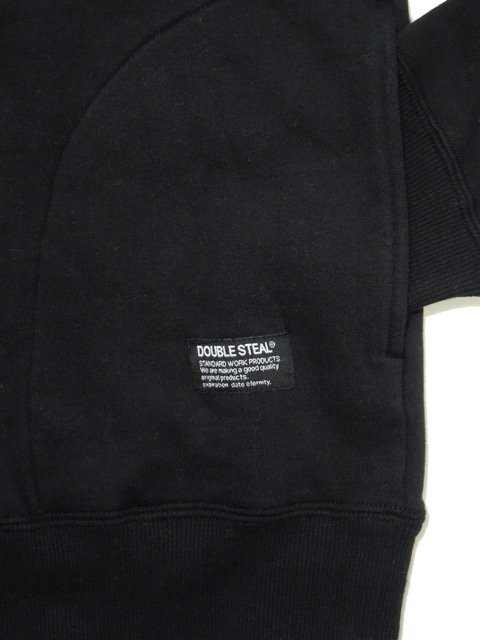 [DOUBLE STEAL] HOOD IN FABRIC PARKA(BK)2