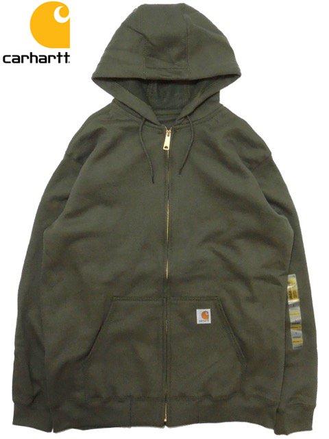 [Carhartt] Midweight Hooded Zip-Front Sweatshirt