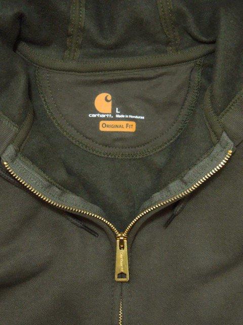 [Carhartt] Midweight Hooded Zip-Front Sweatshirt2