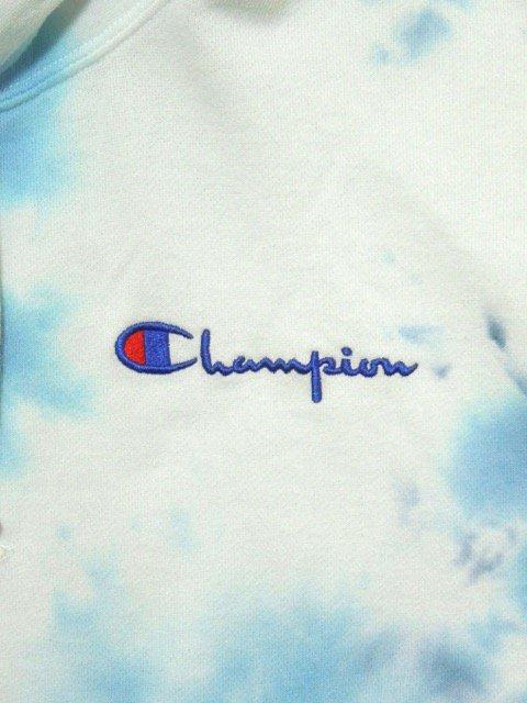 [Champion] BIG SKY DYE PULLOVER HOODED(BL)1