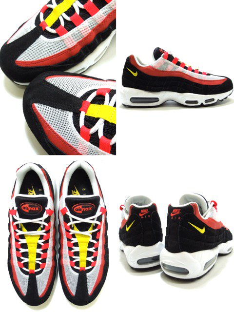 [NIKE] AIR MAX 95 ESSENTIAL-Ketchup and Mustard-3