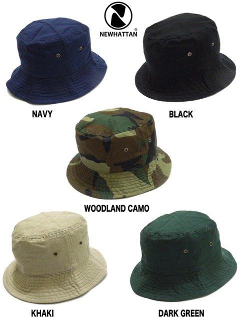 [NEWHATTAN] CLASSIC BUCKET HAT