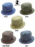 [NEWHATTAN] CLASSIC BUCKET HAT -pigment dyed-