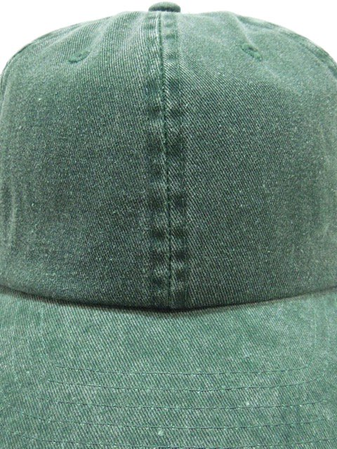 [NEWHATTAN] BASEBALL LOW CAP -pigment dyed-1