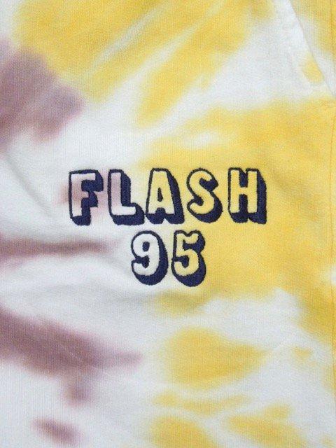 [FLASH POINT] FLASH 95 EMB TIEDYE SWEAT SHORT PANTS(YE)1
