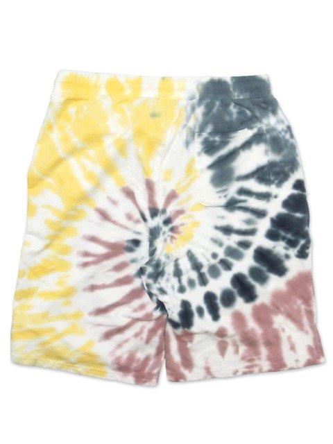[FLASH POINT] FLASH 95 EMB TIEDYE SWEAT SHORT PANTS(YE)3