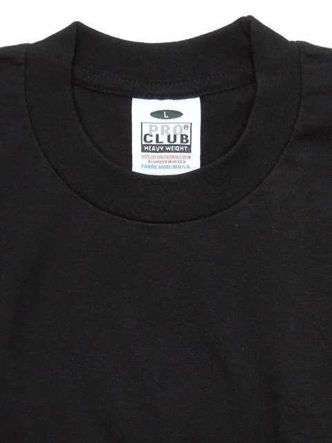 [PRO CLUB] HEAVY WEIGHT Tee(BK/NV/WH)1