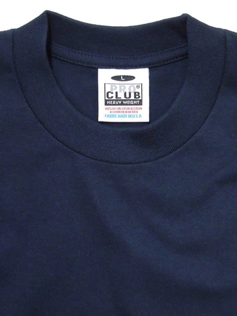 [PRO CLUB] HEAVY WEIGHT Tee(BK/NV/WH)2