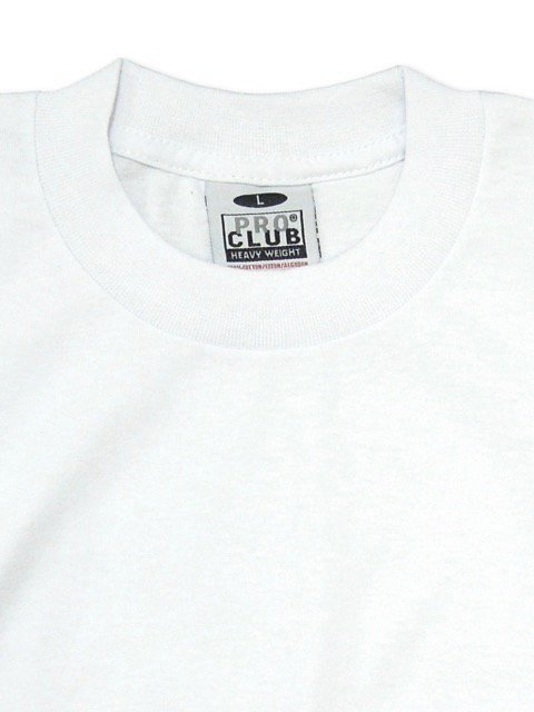 [PRO CLUB] HEAVY WEIGHT Tee(BK/NV/WH)3