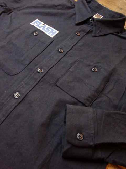 [FLASH POINT] HEAVY FLANNEL TWILL SHIRTS(NV)3