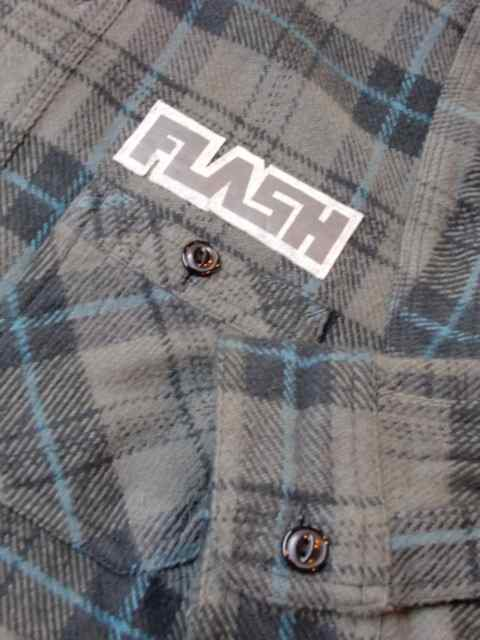 [FLASH POINT] HEAVY FLANNEL CHECK SHIRTS(CH)1