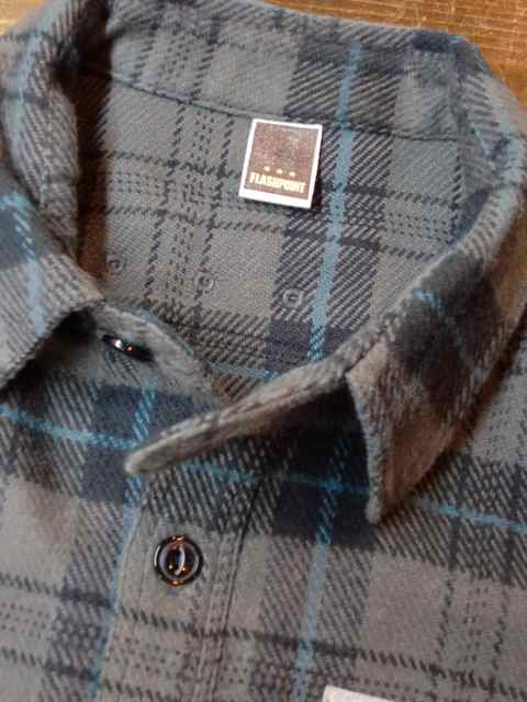 [FLASH POINT] HEAVY FLANNEL CHECK SHIRTS(CH)2