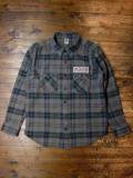 [FLASH POINT] HEAVY FLANNEL CHECK SHIRTS(CH)
