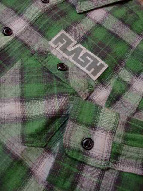 [FLASH POINT] HEAVY FLANNEL CHECK SHIRTS(GR)1