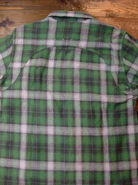 [FLASH POINT] HEAVY FLANNEL CHECK SHIRTS(GR)3