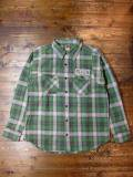 [FLASH POINT] HEAVY FLANNEL CHECK SHIRTS(GR)
