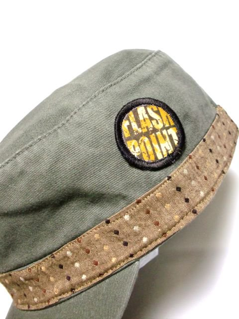 [FLASH POINT] DOT WORK CAP2