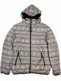[FLASH POINT] Jacquard Knit HOOD JKT(GY)