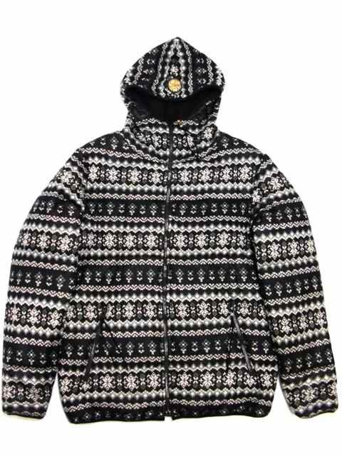 [FLASH POINT] Jacquard Knit HOOD JKT(BK)