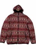 [FLASH POINT] Jacquard Knit HOOD JKT(BG)