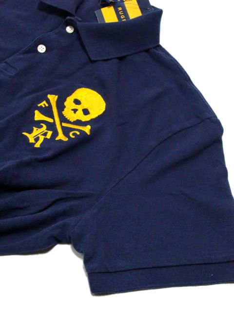 [RUGBY by Ralph Lauren] Big Skull Polo Shirts3