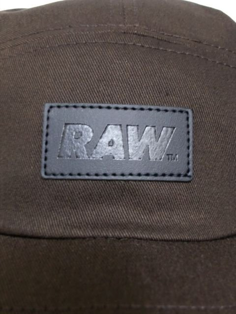 [RAW] RAW LOGO FIVE PANEL CAMPER CAP1