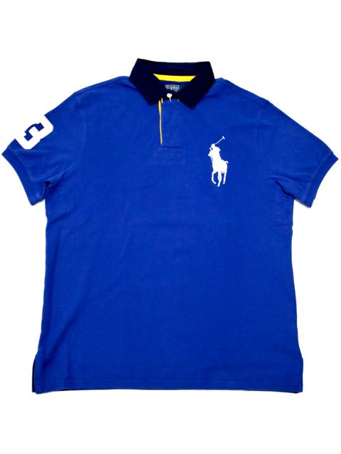 [POLO Ralph Lauren] Big Pony S/S RUGGER SHIRT -CUSTOM FIT-