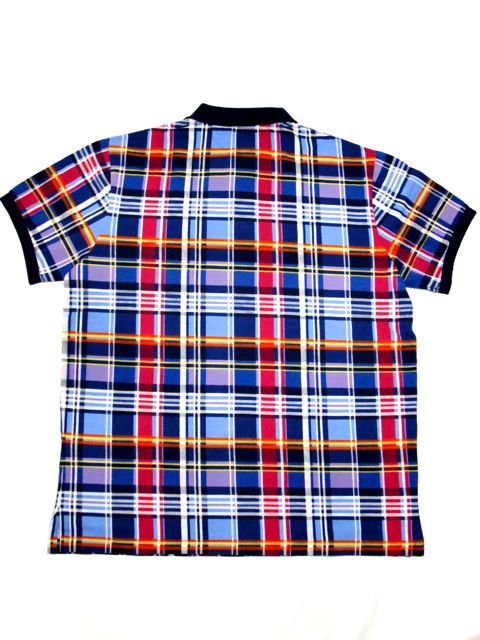 [POLO Ralph Lauren] PLAID S/S POLO SHIRT -CUSTOM FIT-3