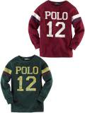 [POLO Ralph Lauren] Long-Sleeved Polo Tee -Boys-