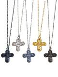 [HiLDK] CROSS NECKLACE -Maria-