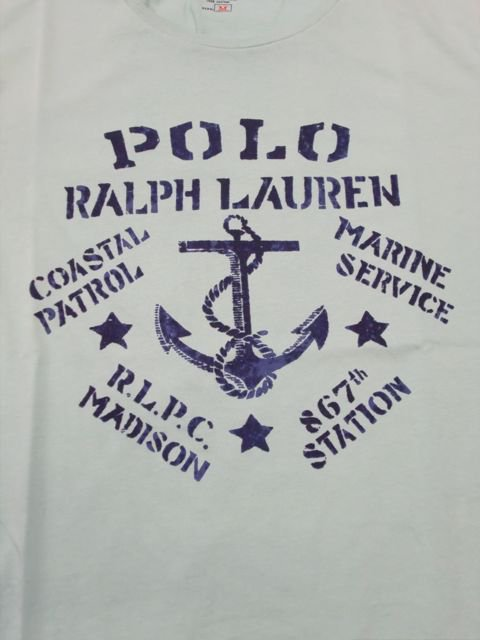 [POLO RALPH LAUREN] Anchor TEE1
