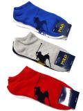 [POLO Ralph Lauren] Big Pony Ghost Sock 3-Pack