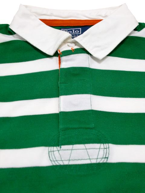 [POLO Ralph Lauren] BORDER S/S RUGGER SHIRT -CUSTOM FIT-1