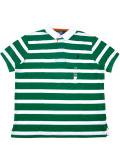 [POLO Ralph Lauren] BORDER S/S RUGGER SHIRT -CUSTOM FIT-