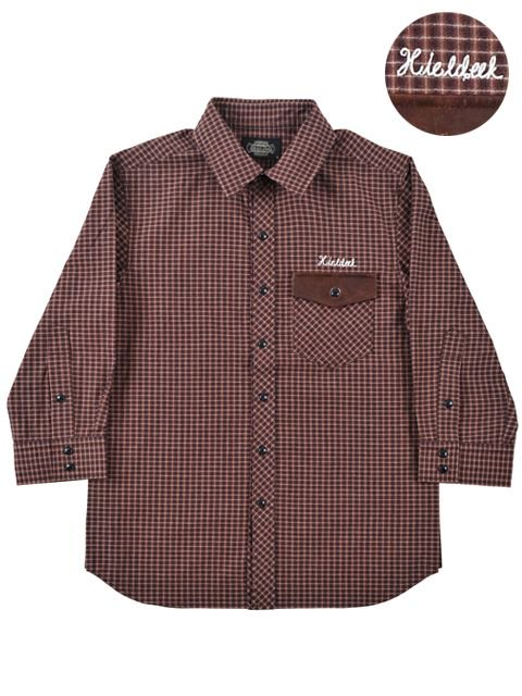 [HiLDK] CHECK SHIRT 7/S -Broadway-