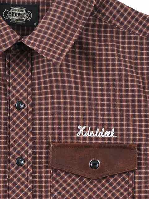 [HiLDK] CHECK SHIRT 7/S -Broadway-1