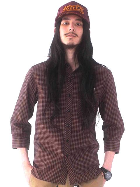 [HiLDK] CHECK SHIRT 7/S -Broadway-3