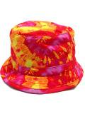 [MISHKA] SUNSET TIE-DYE BUCKET HAT
