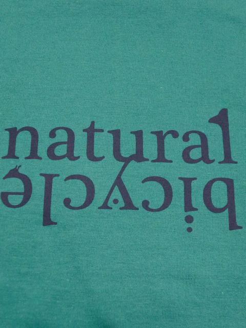 [NATURAL BICYCLE] Cotton T -LOGO-1