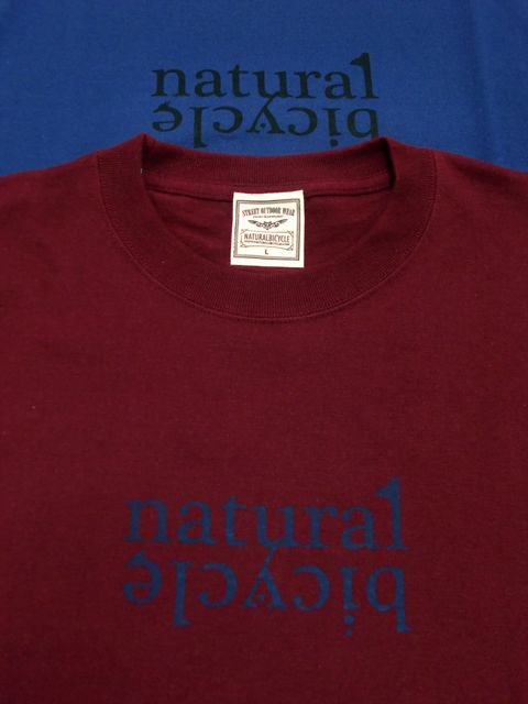 [NATURAL BICYCLE] Cotton T -LOGO-2