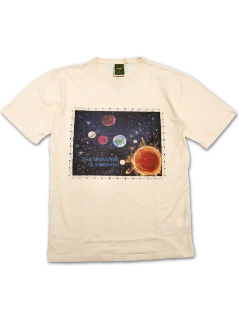 [NATURAL BICYCLE] phatee×Naturalbicycle Hemp Cotton T -UNIVERSE-