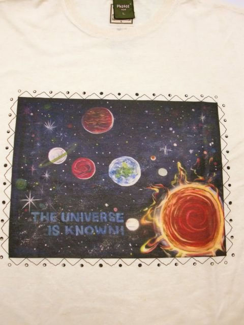 [NATURAL BICYCLE] phatee×Naturalbicycle Hemp Cotton T -UNIVERSE-1