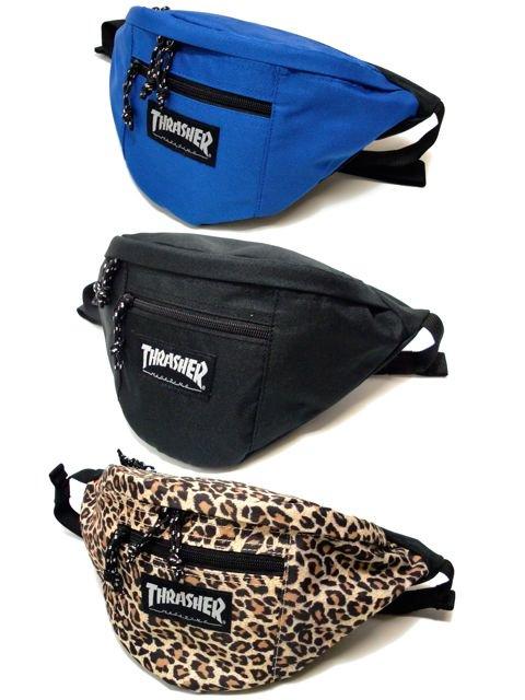 [THRASHER] WAIST BAG