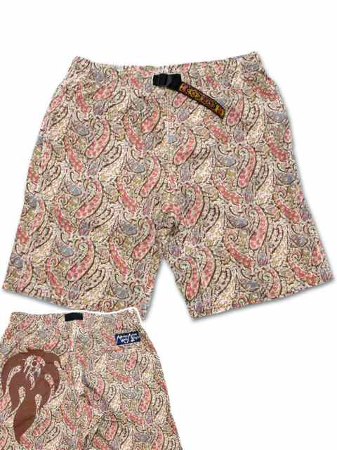 "[NATURAL BICYCLE] Mountain Mania × Naturalbicycle Pattern Shorts ""Fes"""