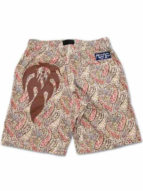 "[NATURAL BICYCLE] Mountain Mania × Naturalbicycle Pattern Shorts ""Fes""2"