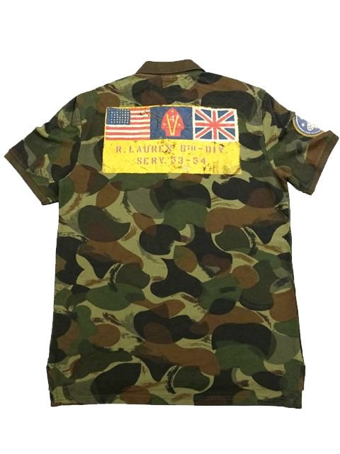 [POLO Ralph Lauren] CAMO Pique Polo S/S Shirt -Boys-1