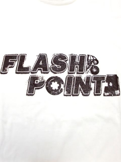 [FLASH POINT] ANALOG LOGO TEE(wh)1