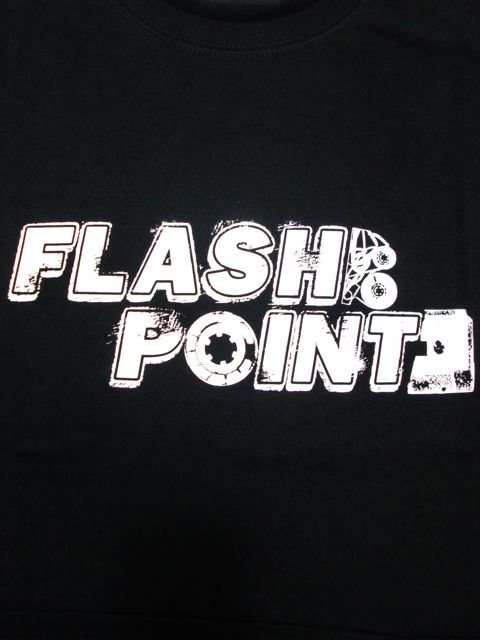 [FLASH POINT] ANALOG LOGO TEE(bk)1